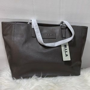 M.I.L.A. Luxury Italian Leather Tote